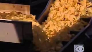 كيفية عمل الشيبس في المصانع
