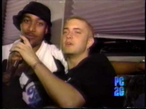 Eminem interviewed by D-Ex on Phatclips, Pt. 2 (1999)