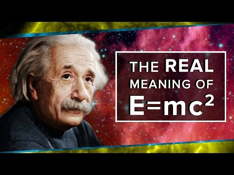 The Real Meaning of E=mc² | Space Time | PBS Digital Studios