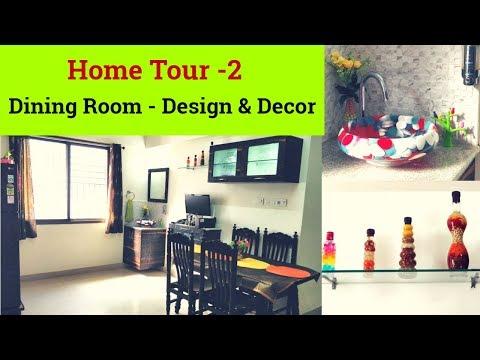 Dining Room Tour - Tips on Organization - Interior designand DIY Decor Ideas