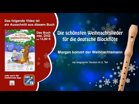 ♬-morgen-kommt-der-weihnachtsmann-☆-deutsche-blockflöte-☆-weihnachtslieder-☆