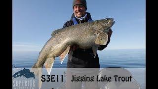 S3E11 - Jigging lake trout (55 mile boat ride)
