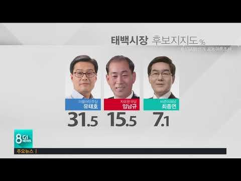 원주권 '민주당 우세'..영.평.횡 '접전'