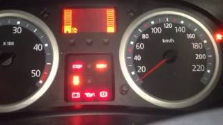 Clio 2 1.5 dci Voyant moteur s'allume et ne démarre plus