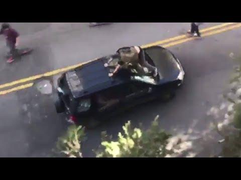 Motorista atropela skatistas no Dia do Skate em São Paulo