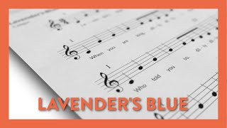 Lavender's Blue - Piano Lesson 62 - Hoffman Academy
