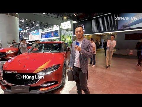 Tìm hiểu Mazda CX-4, SUV coupé mới ra mắt tại triển lãm ô tô Quảng Châu 2019 |XEHAY.VN|