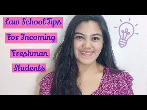 Law School Tips for Incoming Freshman Students | Kai Teh | Philippines
