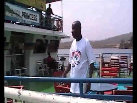 "Dodi Princess - Welcome Home on board of the ""Dodi Princess"", Lake Volta"