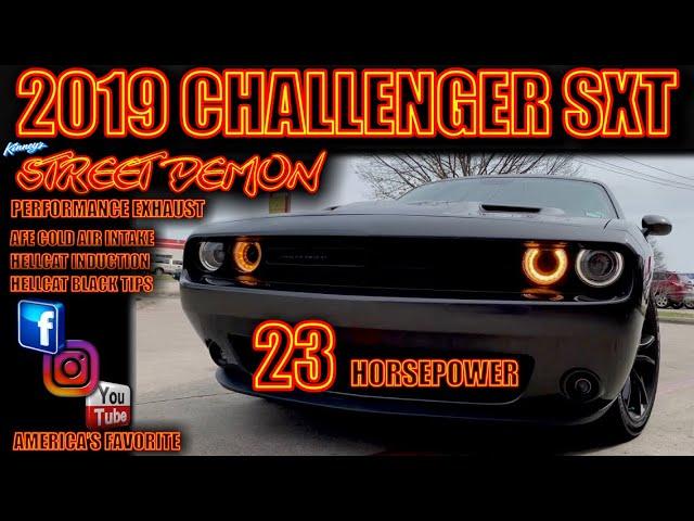 2019 challenger sxt kinney s street