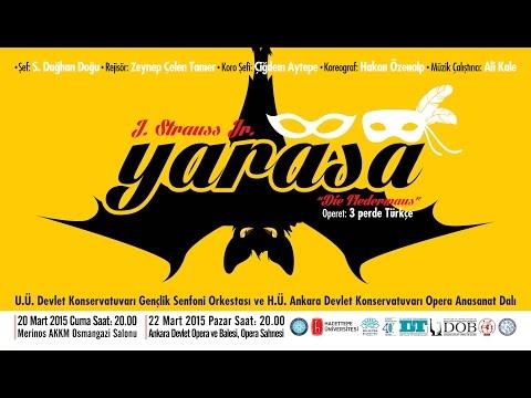 Yarasa/Die Fledermaus - 1. Perde/Act 1 - Bursa/Turkey - 20.03.2015