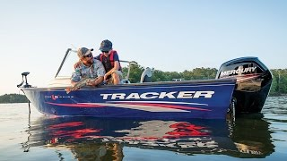 TRACKER Boats: 2017 Pro Guide V-16 WT Deep V Fishing Boat