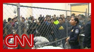 First-ever video from journalists inside border facilities