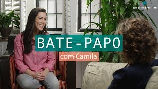 """Baixar Learn Portuguese - """"Bate-papo"""" about language learning with Camila Barcelos 