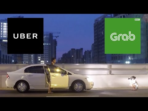 Being a GrabCar & Uber Driver in SG