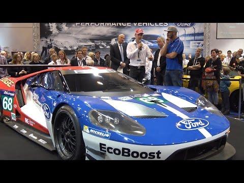 Jean Pierre Kraemer bei Essen Motor Show Ford