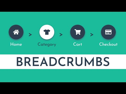 How To Create The Breadcrumbs Using HTML And CSS