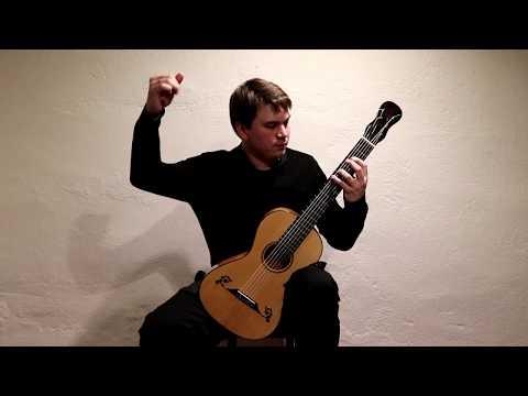 Matteo Carcassi Etude 25 from 25 Etudes op. 60 played by Patrik Kleemola