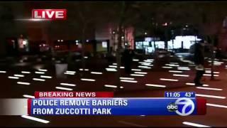 Zuccotti Park Re-Occupied (ABC)