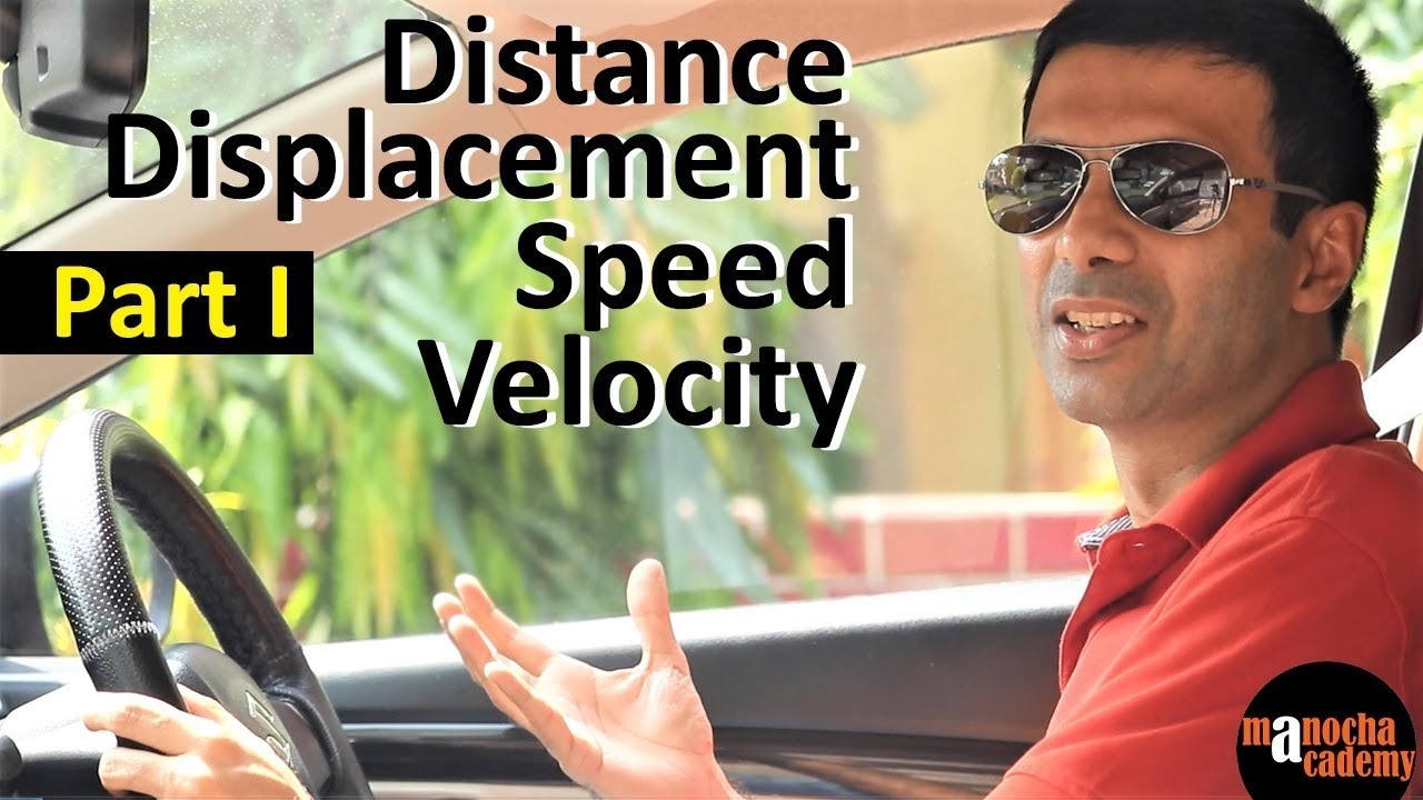 Download Distance, Displacement, Speed and Velocity