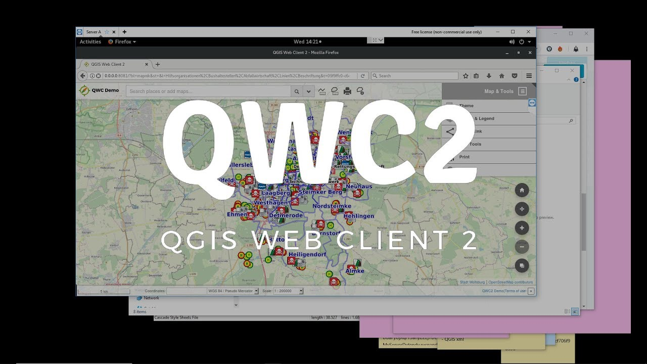 Step by step installation Qgis web client 2 in linux OpenSUSE