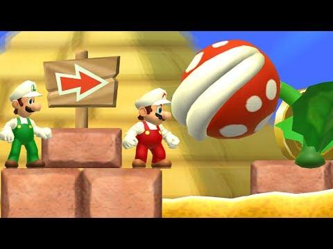 Newer Super Mario Bros. VIP - 2 Player Co-Op - #07