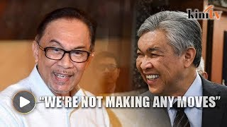 Zahid congratulates Anwar, denies negotiations with PKR