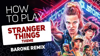 Stranger Things Theme (Barone REMIX) | SUPER PADS KIT 11 REMIX