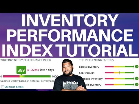 Amazon Inventory Performance Index Tutorial For New FBA Sellers 2020 thumbnail