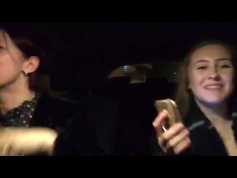 Mum n daughter car karaoke