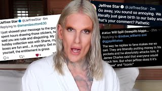 Jeffree Star CLAPS BACK at his fans... AGAIN.