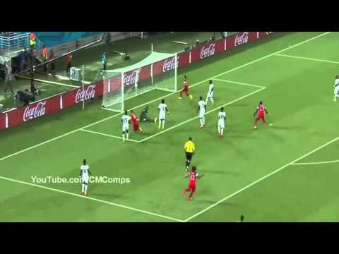 USA vs Ghana 2 1 World Cup 2014 HD Clint Dempsey Goal vs Ghana