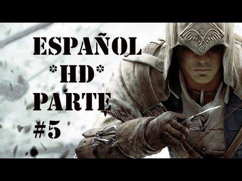 Assassin's Creed 3 | Parte 5 Español * HD * | GUIA Walkthrough/Gameplay (XBOX 360/PS3/PC)