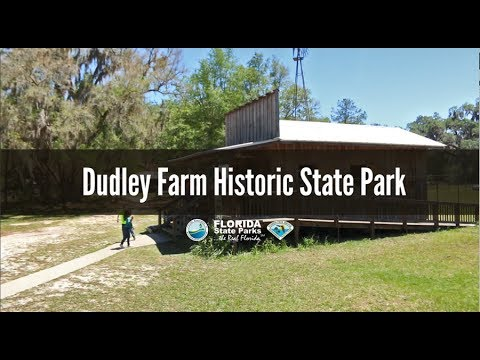 Firsthand Florida Fun: Dudley Farm Historic State Park