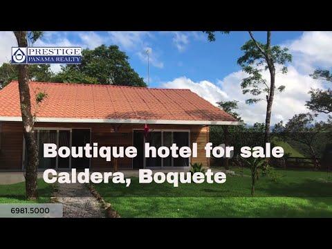 Boutique hotel for sale in Caldera, Boquete. Panama Prestige Panama Realty. 6981.5000