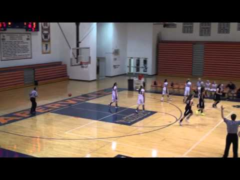 Claire Graham`s Half-Court Buzzer-beater - Glenbard West Girls Basketball