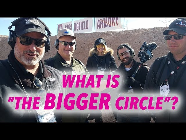 "What is ""The Bigger Circle?"" Rob Leatham Explains – SHOT Show 2019"