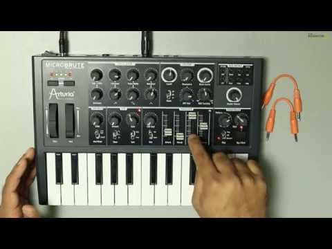 How to make Lead Sounds using Arturia MicroBrute