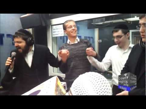 Benny Friedman on Israel's Radio Kol Chai