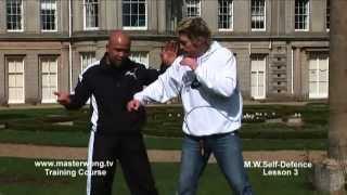 Self-defence Lesson 3: Push, Block Attack.