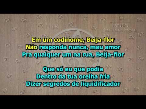Cazuza - Codinome Beija Flor (Karaoke)