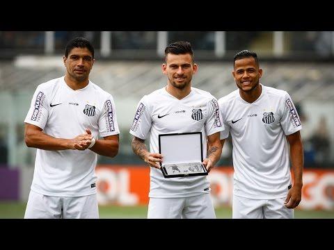 Lucas Lima completa 100 jogos pelo Santos FC