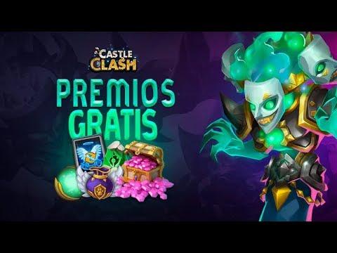 SORTEO PREMIOS GRATIS + ROLEO DE GEMAS | CASTLE CLASH