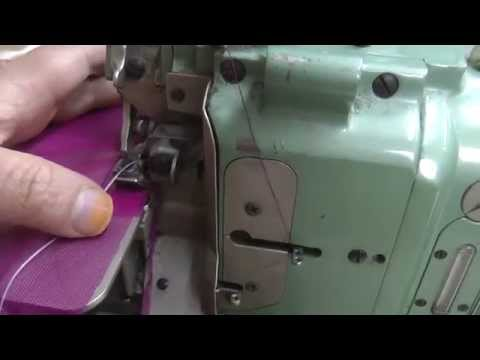 how to feed a wire on the hem