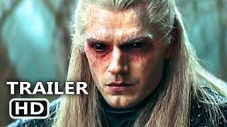 THE WITCHER Official Trailer (2019) Henry Cavill Netflix Series HD