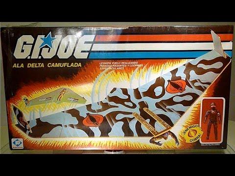 1983 Cobra Viper Glider & Pilot G.I. Joe review