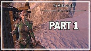 The Elder Scrolls Online Orsinium Lets Play Part 1 Wrothgar - DK Gameplay
