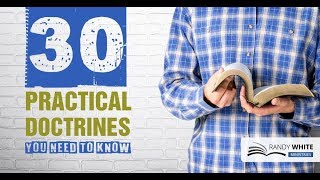 30 Practical Doctrines You need to Know - What is doctrine?