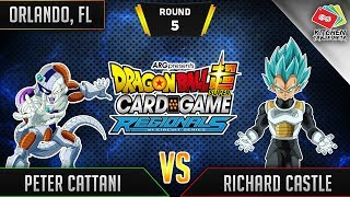 Dragon Ball Super Card Game Gameplay [DBS TCG] Orlando Regional Round 5