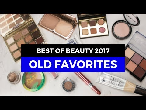 Best of Beauty 2017 - Old Favorites